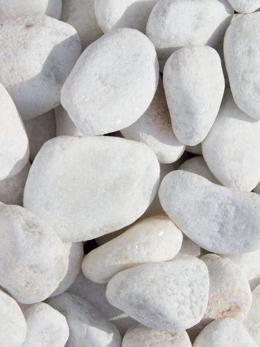 Marmorkies weiß 25 - 40mm
