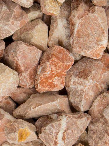 Marmorsplitt Rot 25 - 40mm