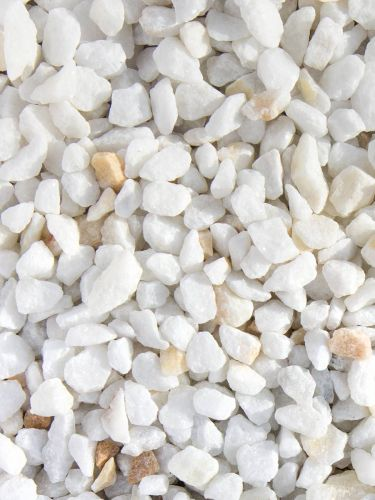 Marmorsplitt weiß 9 - 12mm