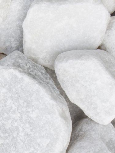 Marmor Weiß Bruchsteine 40 - 80mm