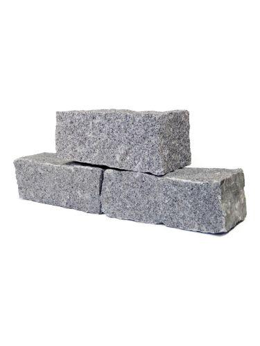Mauersteine Granit Hellgrau
