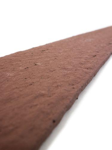 Multi-Edge ECO afboording recht bruin - cortenlook