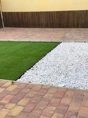 Bordura Multi-Edge Flex instalada jardin