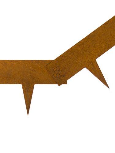Bordura metálica Multi-Edge acero corten
