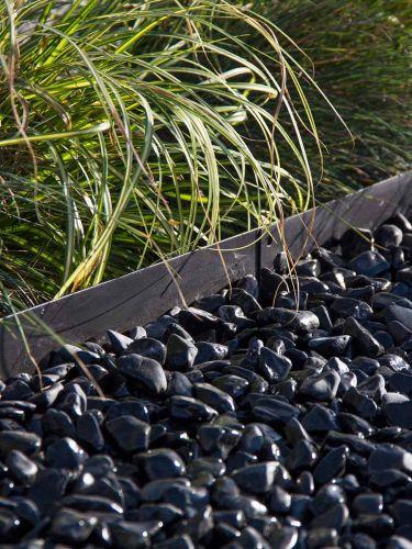 Nero ebano grind (nat) aangelegd met multi-edge zwart