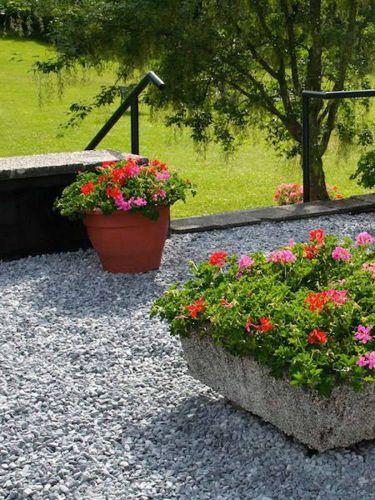 Nordic Grey 12 - 18 verlegt Garten