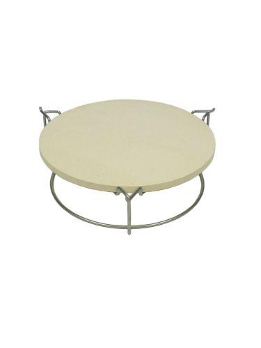 Plate setter Large 38cm - geplaatst op het bovenste niveau (voor pizza)