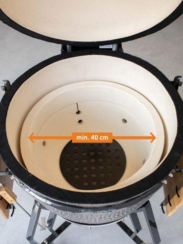 Plate setter Large past in bbq's met een binnenmaat van min. 40cm
