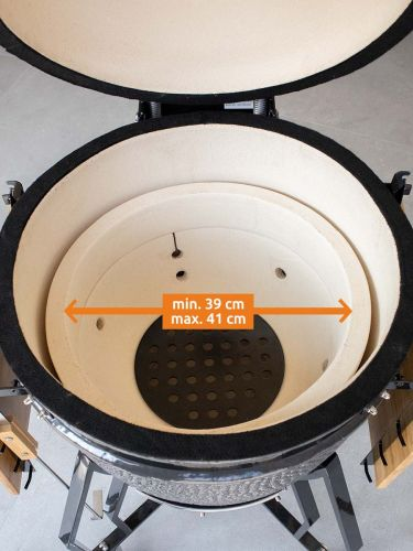 Plate Setter Large minimale en maximale maat binnenring
