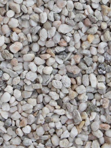 Quarzkies Weiß 5 - 8mm
