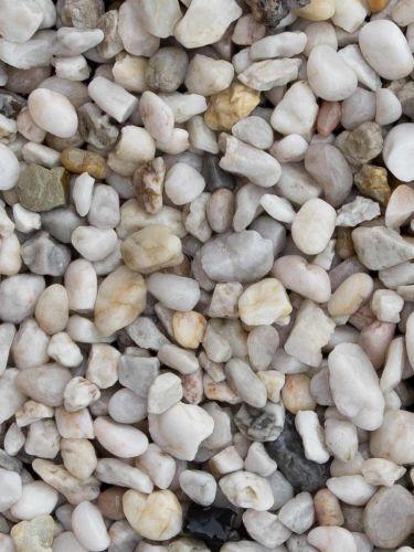 Quarzkies Weiß 8 - 12mm (naß)