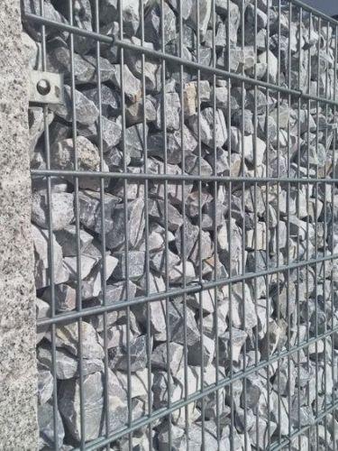 Rocalla Gris Nevada 60 - 120mm (6 - 12cm) en gaviones