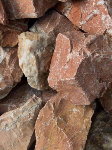 Rocalla Roja Mármol 40 - 60mm (4 - 6cm)