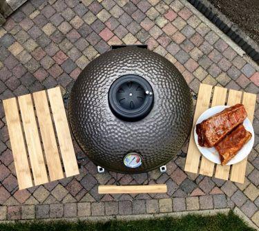 The Columbus Kamado Grill Large Charcoal Grey