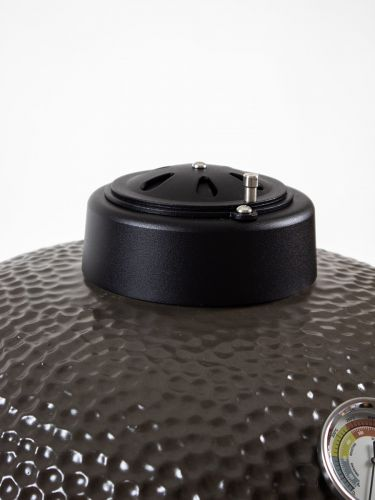 The Columbus Medium Grey Compleet Kamado margrietrooster en thermometer