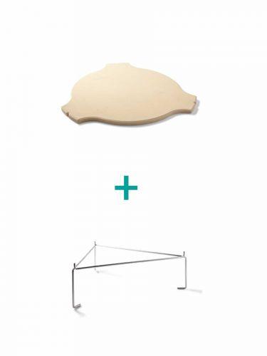Yakiniku Deflektorstein mit Distanzstück Large