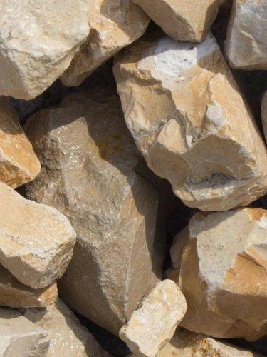 Yellow Sun Bruchsteine 40-60mm