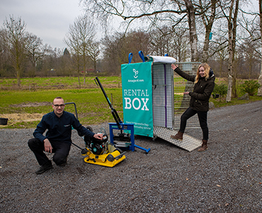 Nieuw: Huur een Amagard RentalBox met tuinmaterieel!