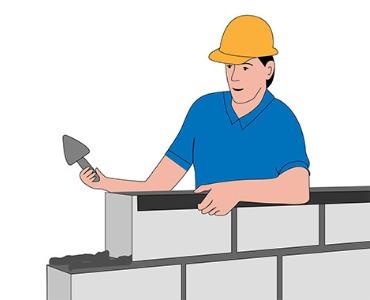 ¿Cuántos bloques de hormigón necesito?