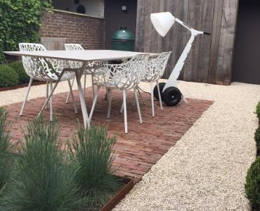 10 schöne Gärten mit Kies und Splitt