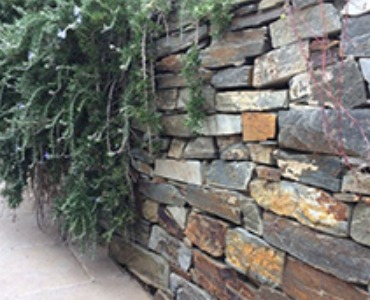 Gartenmauer bauen mit Mauersteine
