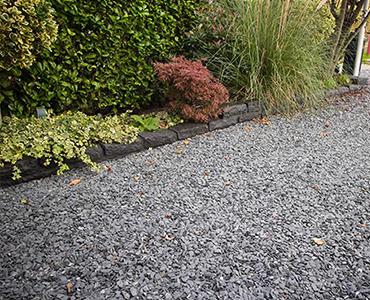 Jardín con piedras, sinónimo de sofisticación