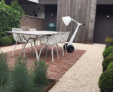 El jardín minimalista, simplicidad que llena