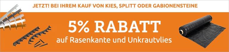 5% Rabatt package deal