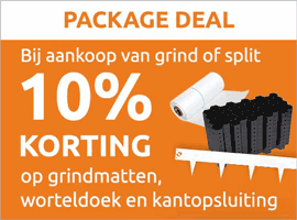 10% korting package deal