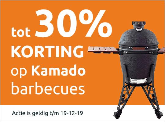 tot 30% korting op Kamado barbecues