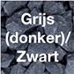 Grijs (donker)/zwart grind-split