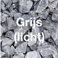 Grijs (licht) grind-split