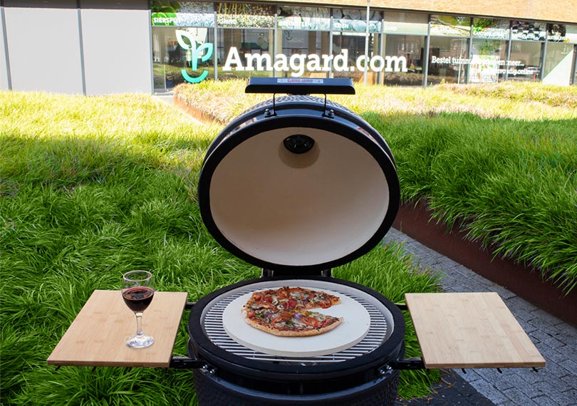 Kamado barbecue