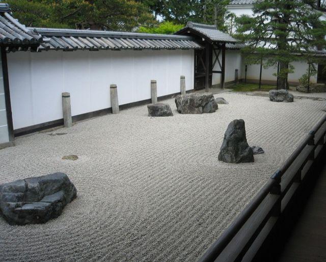Japanse zen-tuin