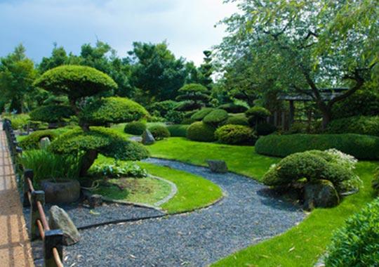 Jardín japonés zen