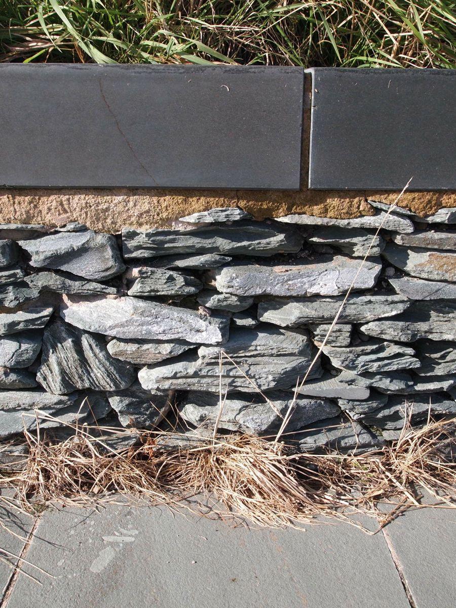 bruchsteine gartenmauer
